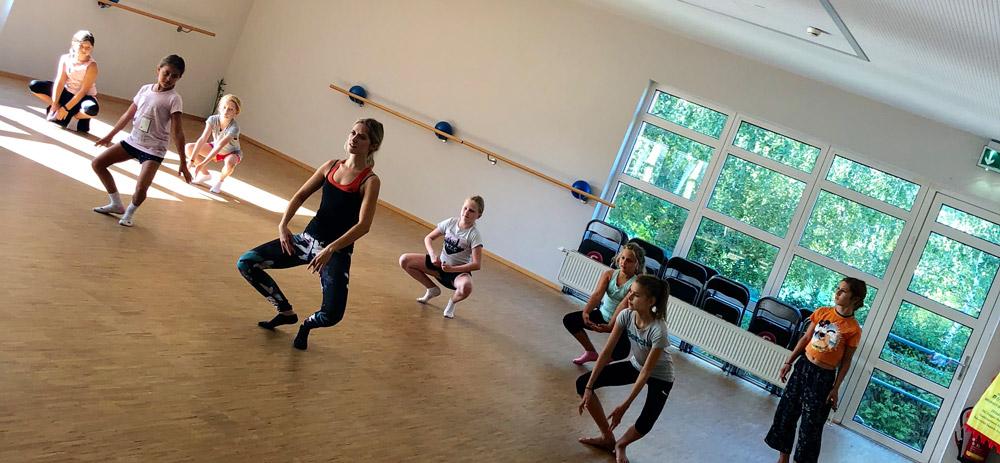 Modern Dance für Kinder in St. Pölten