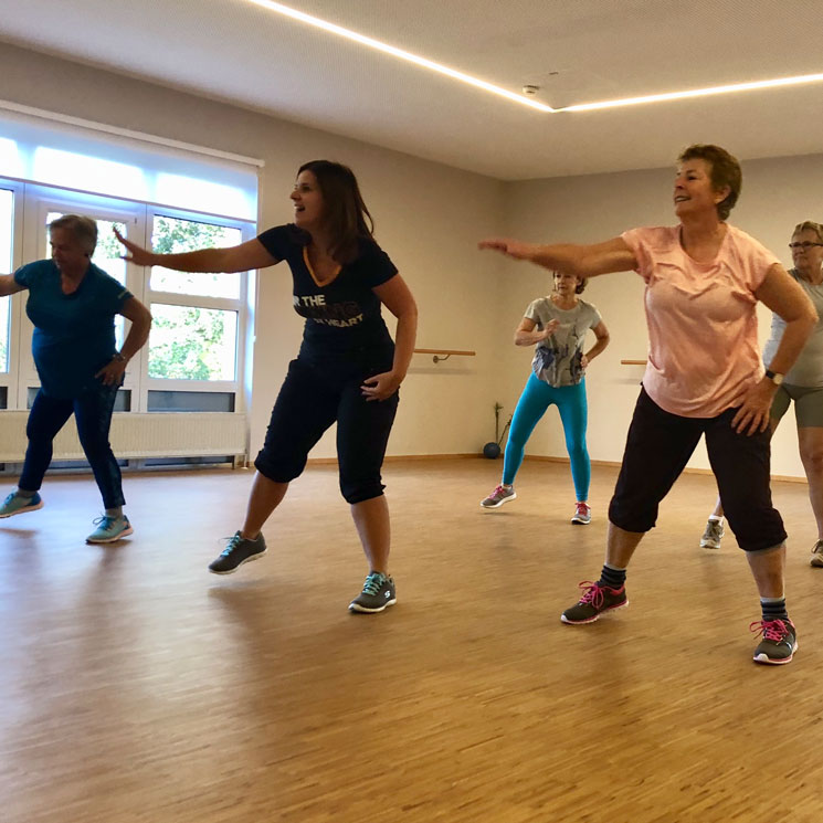 Zumba Gold in Mein Seestudio